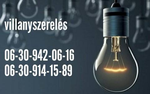 Villanyszerelés, Elektromos hálózat kiépítése Budapest, Pest megye