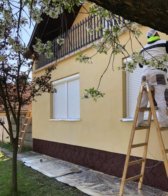 Szobafestés, Glettelés, Hőszigetelés, Javító munkák Szeged és Csongrád megye
